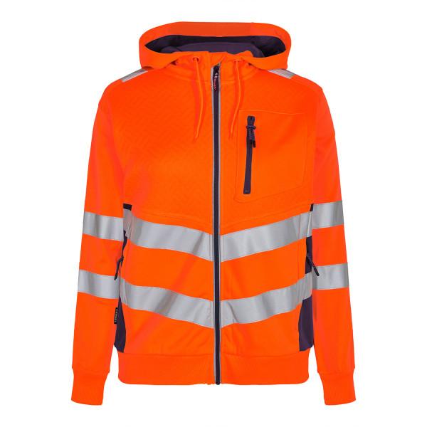FE Engel Safety Damen Sweat cardigan nach EN 20471
