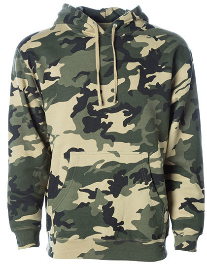 Camo Heavyweight Hooded Pullover