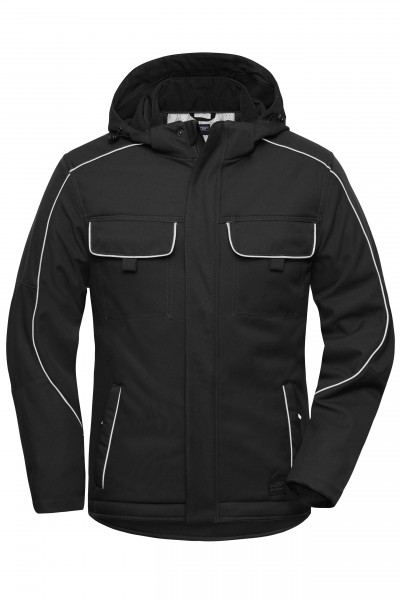 Workwear Softshell Jacke- SOLID